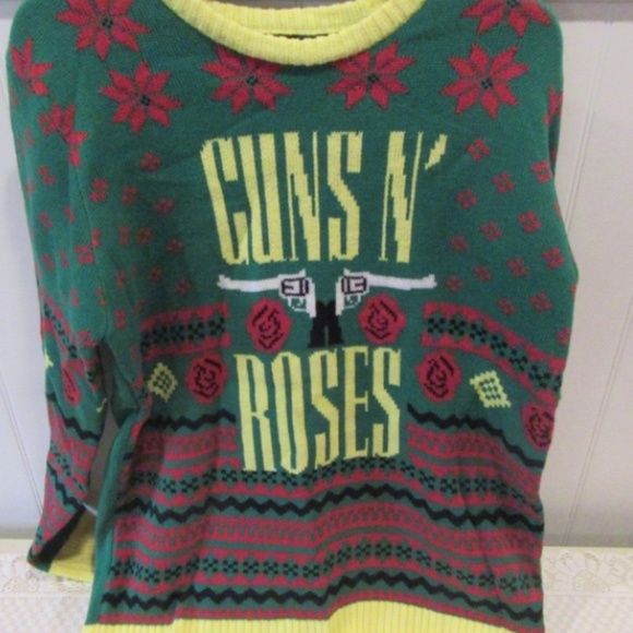 Sweaters Guns N Roses Ugly Christmas Sweater Xl Poshmark